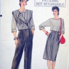 VOGUE 8750 Vest Top Skirt & Pants PATTERN sz 6-10 UNCUT
