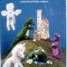 Once Upon A Myth Mythical Animals Crochet Pattern Book - Saxton - 1988
