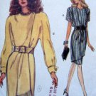 8564 Vogue Ladies Mock Wrap Dress Pattern sz 12-16 UNCUT 1993