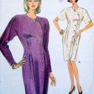 7853 Vogue Ladies Button Front Dress Pattern sz12-16 UNCUT 1990