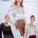 VOGUE 7089 Frilly Blouses  PATTERN 8-12 UNCUT -