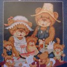 Hugs & Stitches Cross Stitch Pattern Book - Jo Sonja - 1984