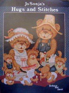 Hugs & Stitches Cross Stitch Pattern Book - Jo Sonja - 1984