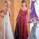 3739 Ladies Evening  Gowns Pattern sz 4-10 UNCUT -