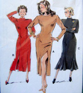 21734 Neue Mode Ladies Dress Pattern sz 8-20  UNCUT