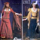 9246 Ladies Renaissance Costume Pattern 12-18 UNCUT