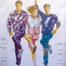 4847 Burda Unisex Jogging Suits Pattern  UNCUT