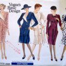 2325 Vogue Ladies Dress Wardrobe Pattern sz 6-10 UNCUT