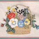 VTG JANLYNN Counted Cross Stitch Kit - SPRING BOUQUET - 12X9 -  Gloria & Pat