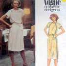 2640 Vogue  Blouson Dress & Belt ALBERT NIPON  Pattern 14 UNCUT