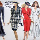 Vogue 2007 Flared Coat Style Dress Tunic Skirt  Pattern sz 8-12 1988 UNCUT