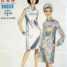 Vintage 7090 VOGUE Classic Straight Dress Pattern sz 16/36 UNCUT