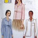 7575 Vogue Ladies Shirts  Pattern sz 6-10 UNCUT - 2002