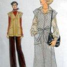 9875 Vogue Jumper Dress Top Pants Pattern size 10 UNCUT