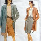 8264 Vogue Jacket Skirt Shorts Pattern sz 18-22 UNCUT  1992