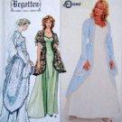 8623 Ladies Begotten Wedding Medieval Gown Pattern 12-16 UNCUT -