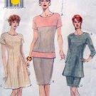 9222 Vogue Ladies Top Tunic Skirt Pattern sz 14-18 UNCUT 1995