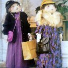 4 Foot Tall SHOPPER DOLL McCalls Sewing Pattern 2827 UNCUT