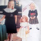 Vintage 2769 Little Girls Fancy Dress Pants Pattern sz 2-4 UNCUT 1991 - Eiseman
