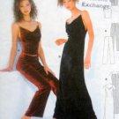 2827 Burda Evening Dress Top Pants Pattern UNCUT sz 6-16