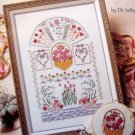 ASN RIBBON EMBROIDERY In Just One Day Pattern Book with Transfers 1994
