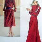 Vintage 7747 Vogue Pullover Dress  Pattern sz 12  UNCUT