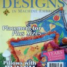 Designs Machine Embroidery QUILTS Issue Pattern Book
