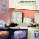 9323 Kitchen Cover Ups Toaster Coffee Maker Blender etc. Pattern UNCUT