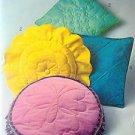Vintage 9140 Retro 70's Pillows Pattern UNCUT - 1970