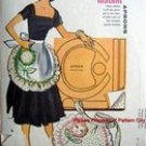 7614 Vintage Vogue Drop Waist Flared Skirt Dress Pattern sz 6-10 UNCUT  1989