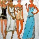 Vintage 6361 Ladies LINGERIE Slip Camisole Shorts Teddy Pattern sz 14 UNCUT