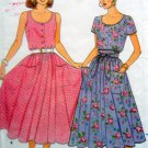 3869 Casual Summer Ladies Full DRESS Pattern UNCUT sz 8-12 - 1986
