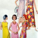 Vintage 5455 Ladies One Piece DRESS & HAT PATTERN sz 12 UNCUT - 1964