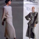 1952 Vogue TAMOTSU Dress Top Skirt Pattern sz 12 UNCUT