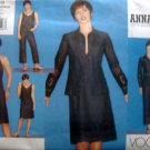 2553 Vogue ANNA SUI Jacket Dress Skirt Pants Pattern sz 18-22 UNCUT