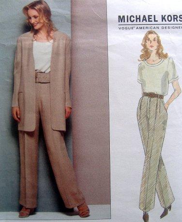 1309 Vogue MICHAEL KORS Jacket Pants Top Pattern sz 14-18 UNCUT