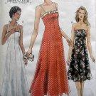 7875 Vogue Misses Summer Halter Strapless DressPattern sz 12-16 UNCUT