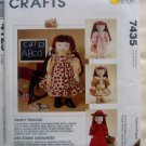 7435 American Girl Gotz FANCY FROCKS Doll Clothes Pattern UNCUT