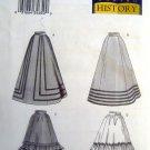 3418 History Misses Skirts Pattern sz 6-10 UNCUT