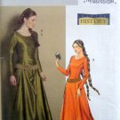 4827 History Medieval Dress & Belt sz 6-12 UNCUT