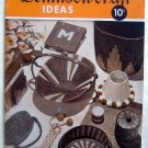 Vintage Dennison Craft  Crepe Projects Book - 1943