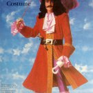 7791 Vintage Disney Child CAPTAIN HOOK Costume Pattern sz 6-8 UNCUT