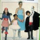 8222 Child WONDER WOMAN MAGICIAN Costume Pattern sz 7-8 UNCUT