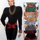 9666 Vintage Vogue Misses BELTS 5 Designs Pattern One Size UNCUT- 1986