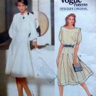 1359 Vogue Designer Jean Muir Flared Dress sz 10 UNCUT
