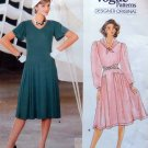 1414 Vogue Designer Jean Muir Flared Dress sz 10 UNCUT