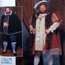 9650 Renaissance King Henry VIII Cape Robe & Hat Costume Pattern sz S-L UNCUT
