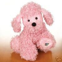 Webkinz Pink Poodle ~ Brand New, Sealed Tag, Unused Code!