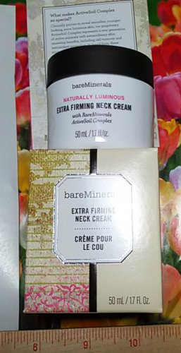 BareMinerals Extra Firming Neck Cream 50ml / 1.7 oz Full Size Boxed