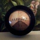 Sephora Collection Microsmooth Baked Eyeshadow Trio ~ Sunset  #03 ~ .06 oz Full Size
